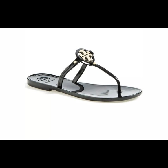 5ff959d4749b Tory Burch Mini Miller black jelly sandals 7. M 5aaffef28af1c51355e3be7f